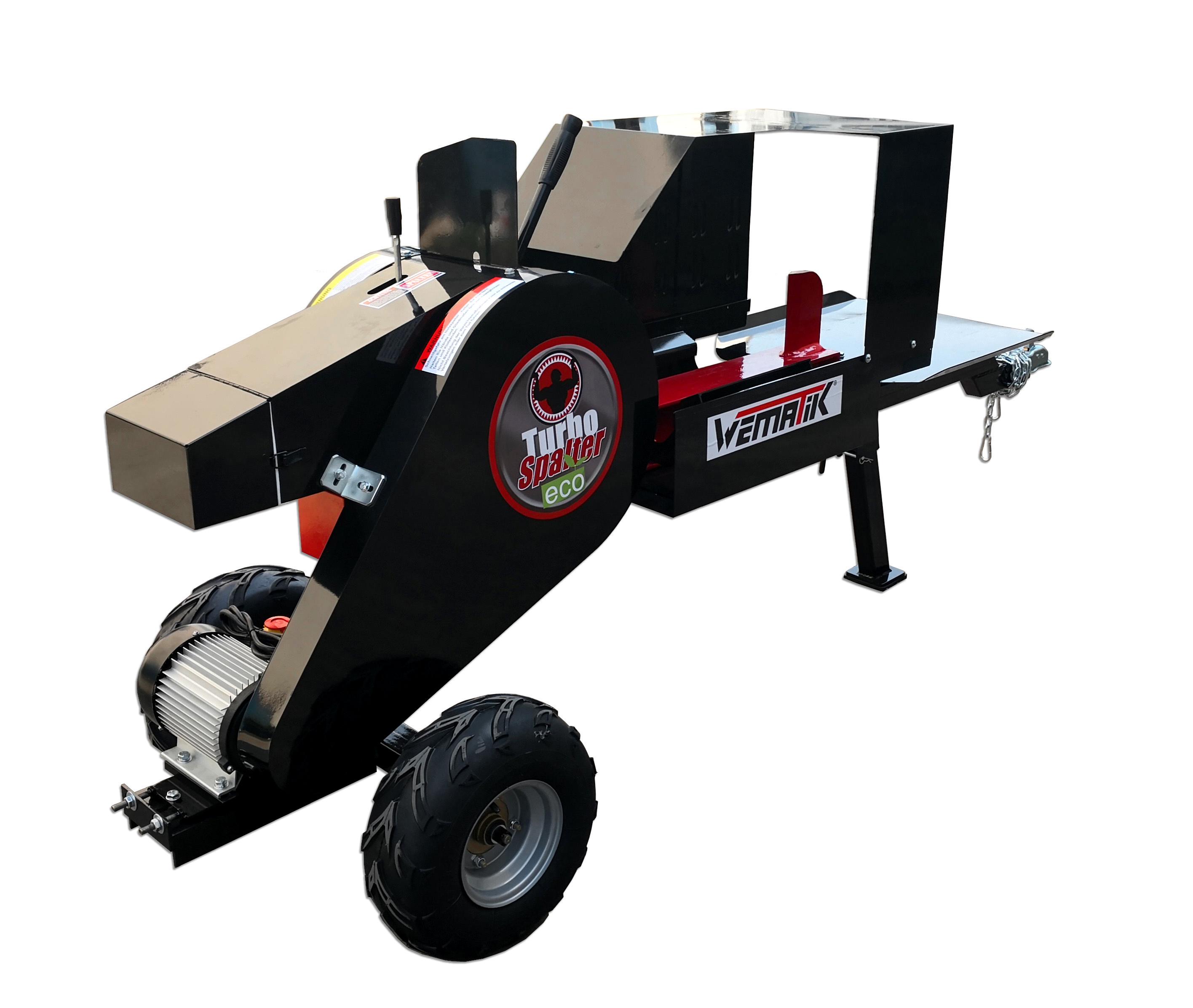 Turbo Spalter ECO Schwungradspalter 34 Tonnen