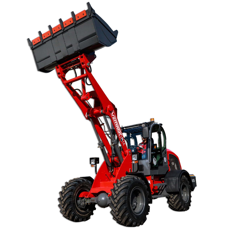 Radlader 825 - 2500 kg Hubkraft